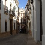 Esta es una de las calles más fotografiadas de Ronda