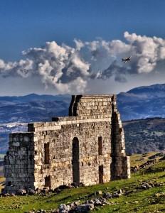 Los romanos estuvieron establecidos aquí durante siglos.